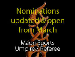 Māori Sports Umpire/Referee