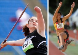 ROBINSON & RIRINUI – WINNERS AT NZ TRACK & FIELD