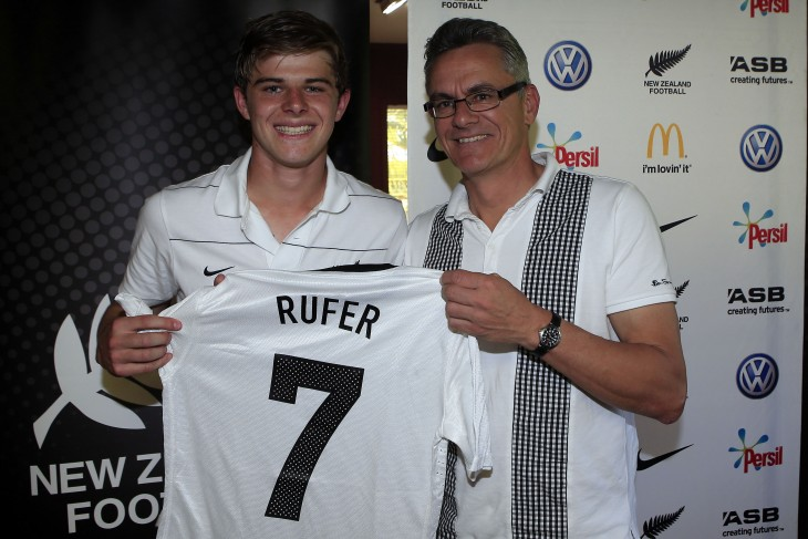 ANOTHER RUFER FOR FOOTBALL HONOURS?