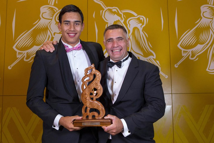 FATHER AND SON SCORE SUPREME MĀORI SPORTS AWARD