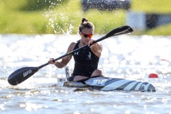 DUAL WORLD TITLES FOR LISA CARRINGTON