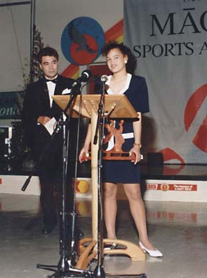 Rawiri Paratene, Leilani Marsh – Junior Sportswoman Winner
