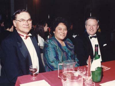 Albie Pryor, Te Atairangikaahu, PM Jim Bolger