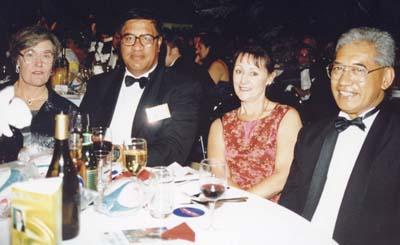 Jim & Mrs Maniapoto, Timu & Mrs Te Heuheu