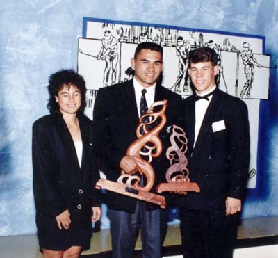 Tina Bell, Eric Rush, Phillip Tataurangi