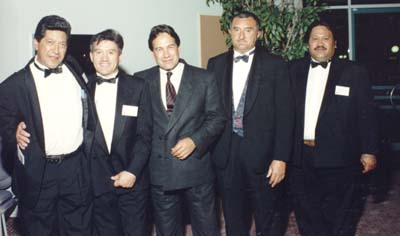 Howie Tamati, Winston Peters, Sonny Taniora