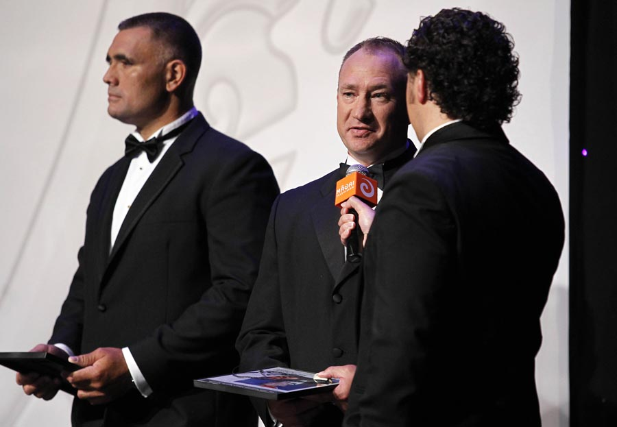 Former winner Dean Bell (1994). Trillian Trust 20th Maori Sports Awards, Telstra Clear Events Centre, Manukau, Auckland, Saturday 4 December 2010. Photo: Simon Watts/photosport.co.nz