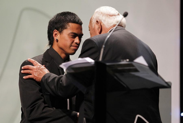 MIT Scholarship recipient Flame-Taaringaroa Ruwhiu. . Trillian Trust 20th Maori Sports Awards, Telstra Clear Events Centre, Manukau, Auckland, Saturday 4 December 2010. Photo: Simon Watts/photosport.co.nz