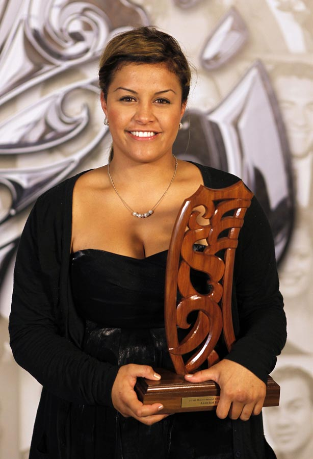 World Champion Atawhai Edwards (Karate). Trillian Trust 20th Maori Sports Awards, Telstra Clear Events Centre, Manukau, Auckland, Saturday 4 December 2010. Photo: Simon Watts/photosport.co.nz