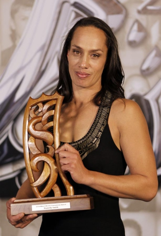 Daniella Smith, world champion boxer. Trillian Trust 20th Maori Sports Awards, Telstra Clear Events Centre, Manukau, Auckland, Saturday 4 December 2010. Photo: Simon Watts/photosport.co.nz
