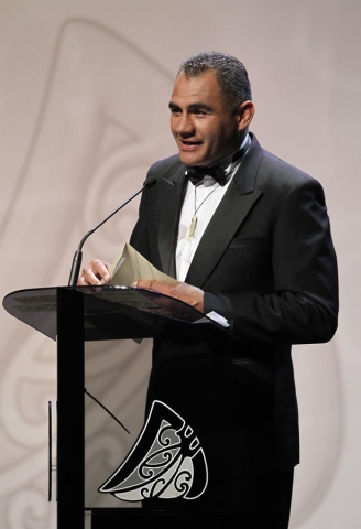 Eric Rush. Trillian Trust 20th Maori Sports Awards, Telstra Clear Events Centre, Manukau, Auckland, Saturday 4 December 2010. Photo: Simon Watts/photosport.co.nz