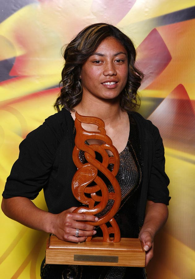 Senior Maori Sportswoman of the Year Renee Wickliffe. Trillian Trust Maori Sports Awards, Manukau Events Centre, Auckland. Saturday 5 December 2009. Photo: Simon Watts/PHOTOSPORT