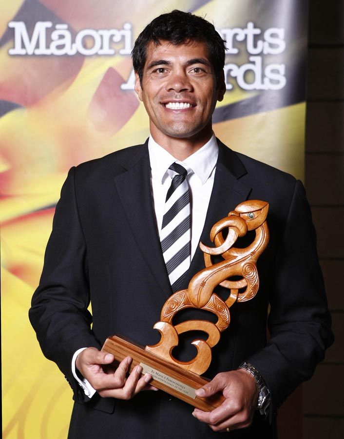 Coach of the Year Stephen Kearney. Trillian Trust Maori Sports Awards, Manukau Events Centre, Auckland. Saturday 5 December 2009. Photo: Simon Watts/PHOTOSPORT