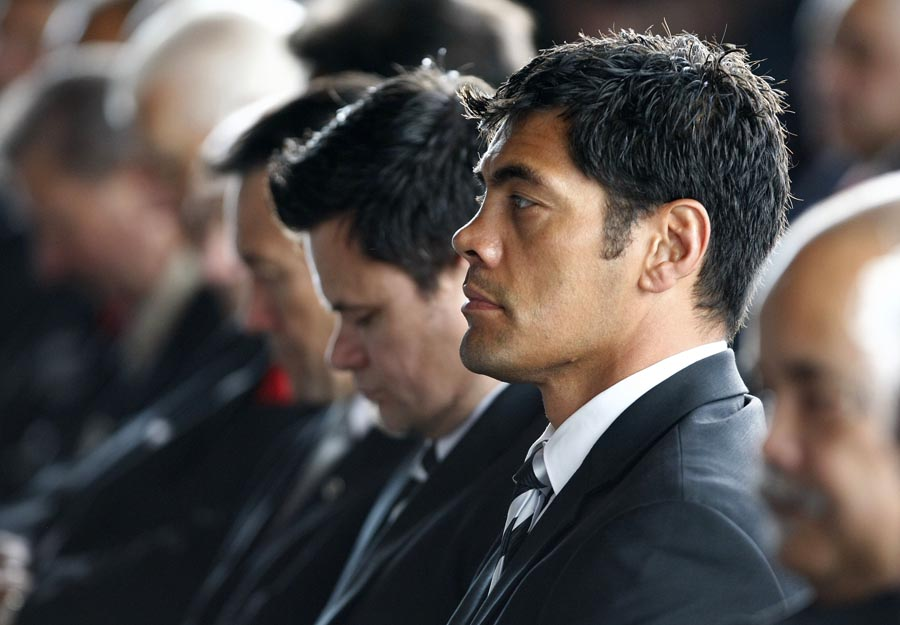 Kiwi League coach Stephen Kearney during the Powhiri. Trillian Trust Maori Sports Awards, Manukau Events Centre, Auckland. Saturday 5 December 2009. Photo: Simon Watts/PHOTOSPORT