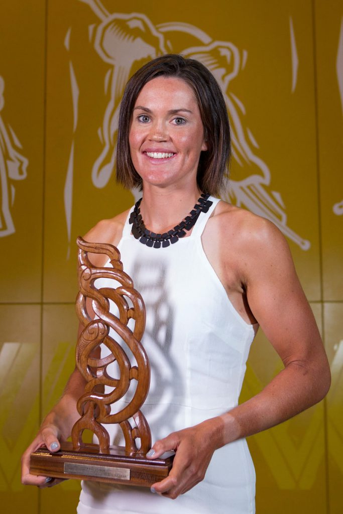 Senior Maori Sportswoman was awarded to rower Fiona Bourke at the Maori Sports Awards 2014, Vodafone Events Centre, Manukau, Auckland, New Zealand, Saturday, November 29, 2014. Photo: David Rowland/Photosport