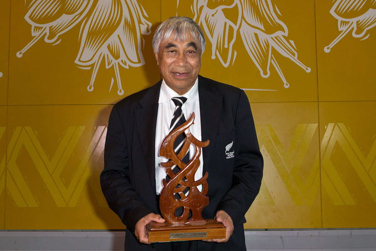 Maori Umpire/Referee was awarded to Glen Warrick Jackson at the Maori Sports Awards 2014, Vodafone Events Centre, Manukau, Auckland, New Zealand, Saturday, November 29, 2014. Photo: David Rowland/Photosport