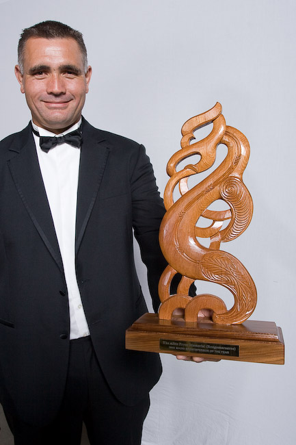 Jason Wynyard (Albie Pryor Memorial Maori Sports person of the Year)