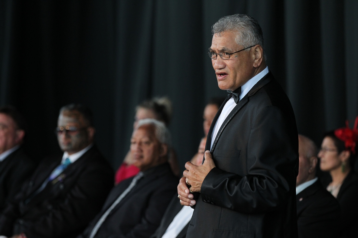 The powhiri at the 2013 Trillian Trust Maori Sports Awards at Vodafone Events Centre, Manukau. Photo: Fiona Goodall/photosport.co.nz