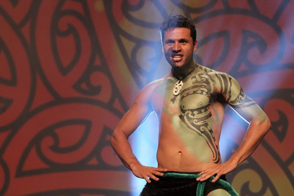 2013  JGeeks perform at the Trillian Trust Maori Sports Awards at Vodafone Events Centre, Manukau. Photo: Fiona Goodall/photosport.co.nz