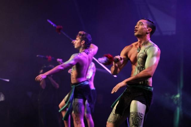 2013  JGeeks perform at the Trillian Trust Maori Sports Awards at Vodafone Events Centre, Manukau. Photo: Fiona Goodall/photosport.co.nz