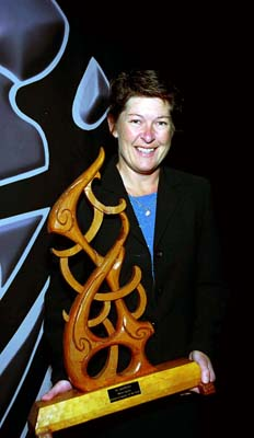 Lyn Farrell – Māori Sports Umpire / Referee of the year