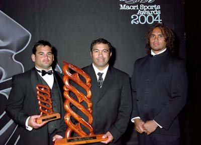 NZ Māori All Blacks – Māori Sports Team of the year