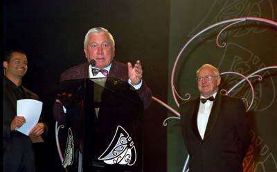 Pat Walsh and Sir Whineray Wilson