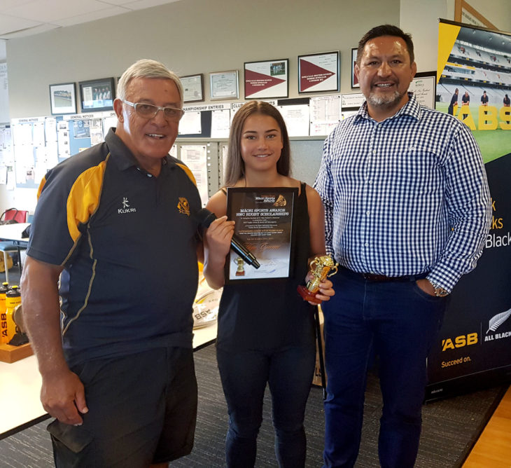 RWC RUGBY SCHOLARSHIP RECIPIENT