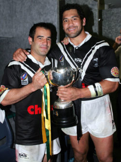 Jones & Wiki NRL Hall of Fame inductees