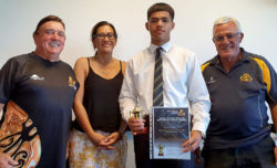 Lessen Huiarangi (Ngāi Te Rangi) RWC Bowls scholarship recipient