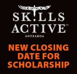 NEW CLOSING DATE FOR SKILLS ACTIVE MĀORI SPORTS SCHOLARSHIP