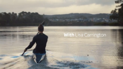With Lisa Carrington