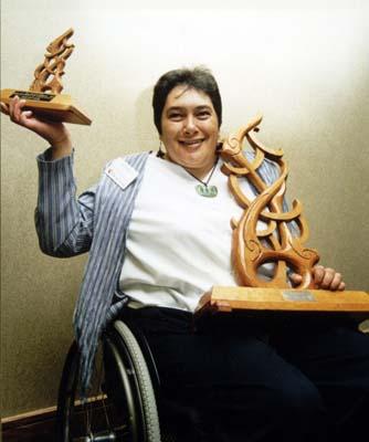Atapo Naera Te Houkotuku – Female Athlete with a Disability