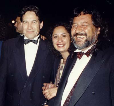 Winston Peters & Pita Sharples