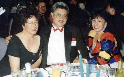 Carol, John and Christine Panapa