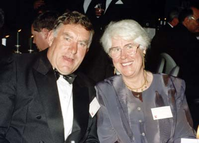 Colin and Verna Meads
