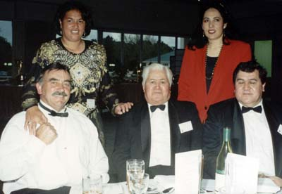 Dick and Desrae Garratt, Hinga Smith, Linda and Graeme Smith