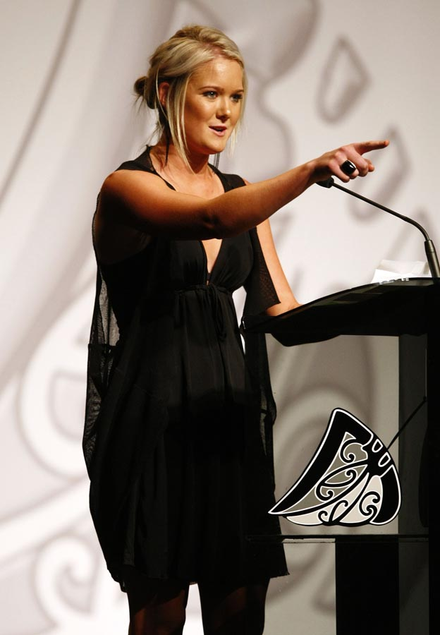 Maori Sports Awards Scholarship recipient Samantha Harrison (hockey). Trillian Trust Maori Sports Awards, Manukau Events Centre, Auckland. Saturday 5 December 2009. Photo: Simon Watts/PHOTOSPORT