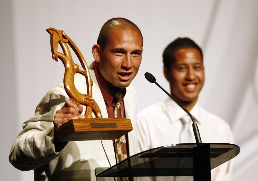 Maori Sports Admisistrator Award winner Philip Parker (football). Trillian Trust Maori Sports Awards, Manukau Events Centre, Auckland. Saturday 5 December 2009. Photo: Simon Watts/PHOTOSPORT