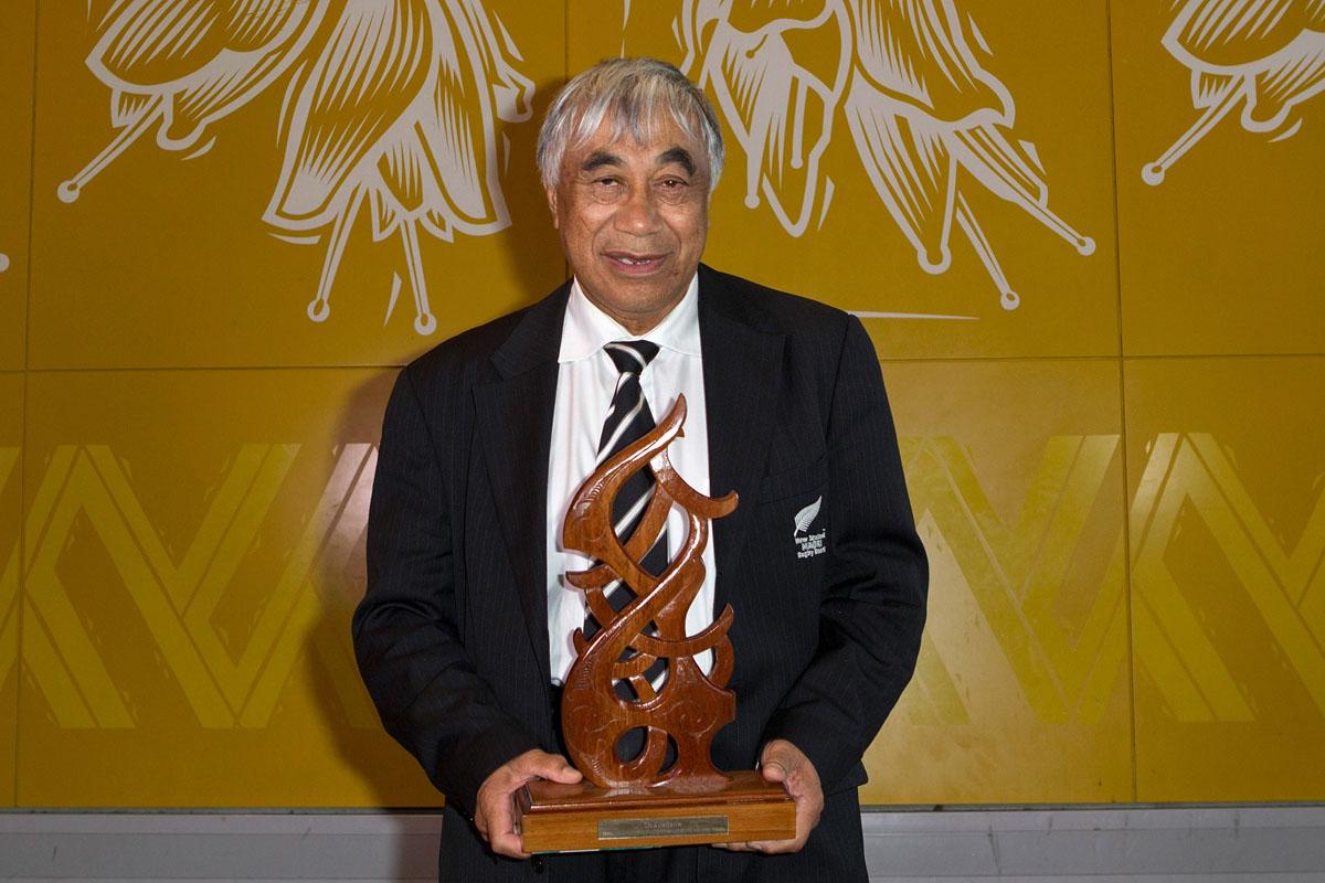 Maori Umpire/Referee was awarded to Glen Warrick Jackson at the Maori Sports Awards 2014, Vodafone Events Centre, Manukau, Auckland, New Zealand, Saturday, November 29, 2014. Photo: David Rowland/Photosport