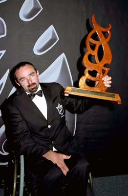 Peter Martin – Māori Sportsperson with a disability of the year