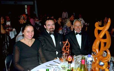 Peter Martin and wife, and whanau